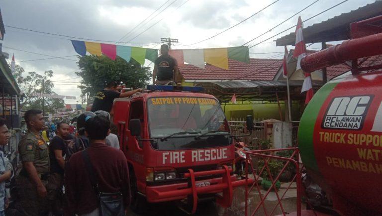 Usai Saksikan Pawai Pembangunan Kaltim, Rumah Warga Dilalap Api