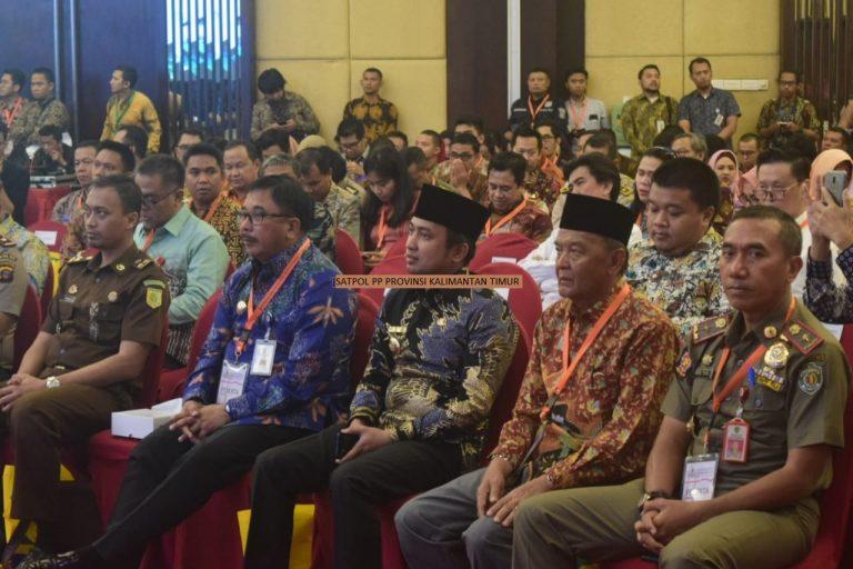 Kasatpol PP Menghadiri Konreg RPJMN 2020-2024 Di Balikpapan