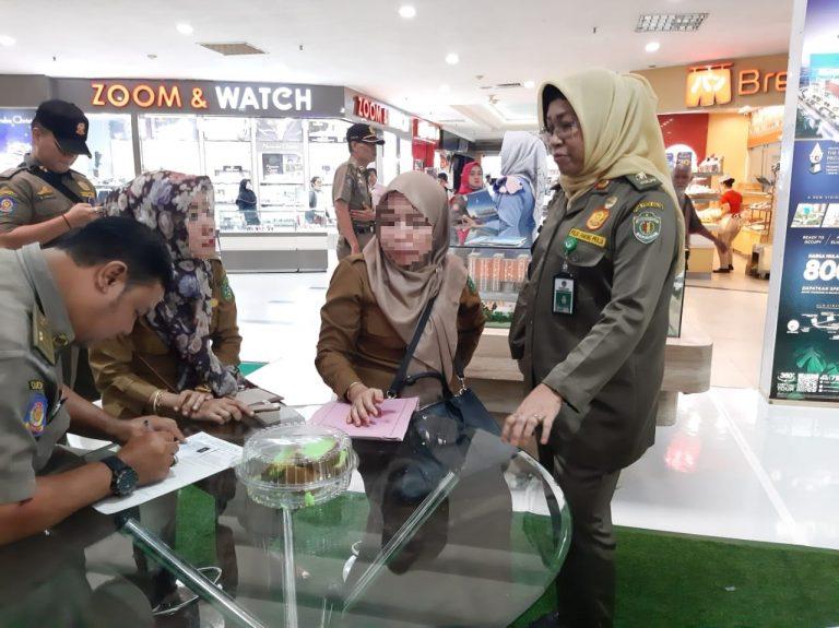 Disiplin ASN, beberapa ASN tertangkap di Mall