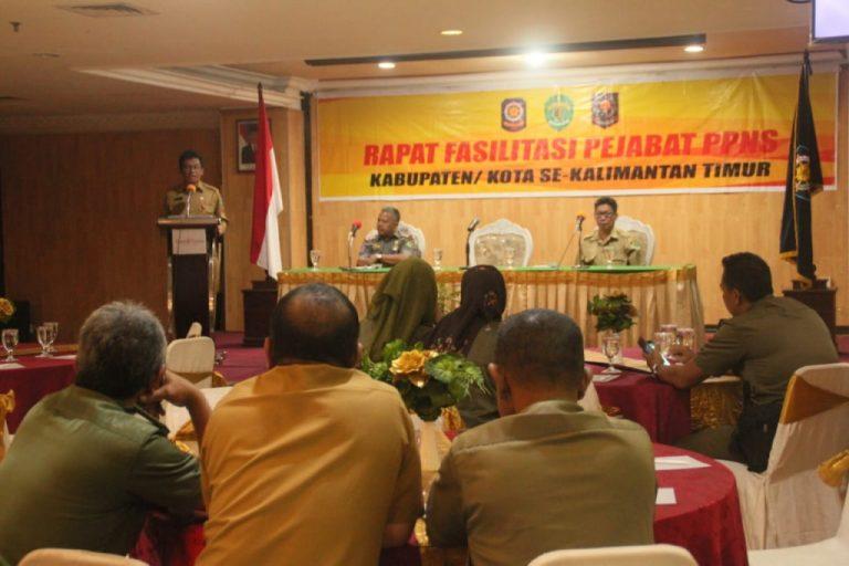 Sosialisasi Penegakan Kawasan Tanpa Rokok, Satpol PP Gelar Rapat Fasilitasi PPNS