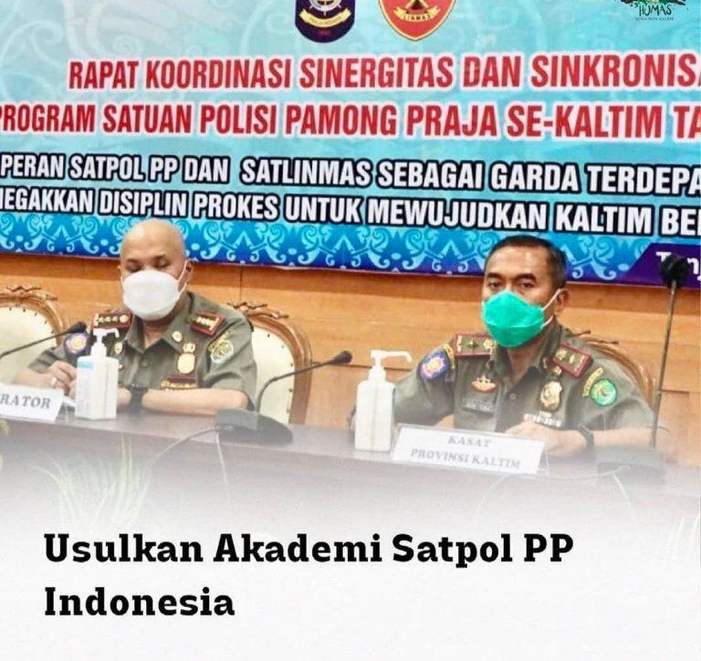 USULKAN AKADEMIK SATPOL PP INDONESIA